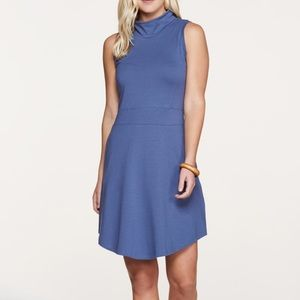 Toad&Co Summerdance Blue Sleeveless Shift Dress